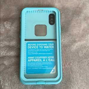 iPhone X lifeproof case